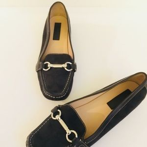 COACH EVE LOAFER, CLASSIC C IN BLACK, Sz 10